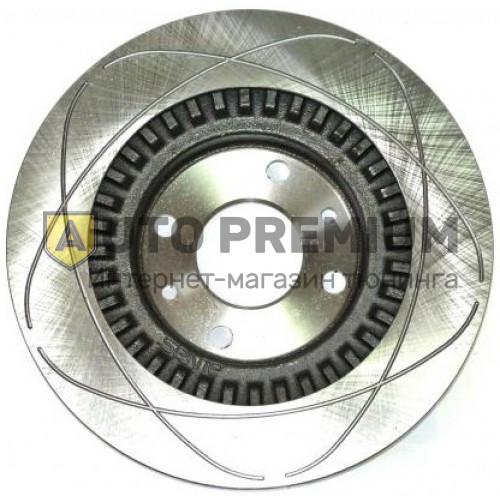 Передние тормозные диски Alnas Euro для ВАЗ 2110-03, R13 с проточками